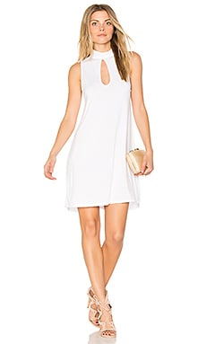 Atticus Keyhole Tank Dress in White