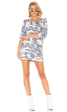 Фото - Платье-толстовка titus - Michael Lauren синего цвета