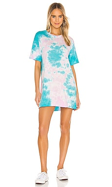 Burman Oversized T-Shirt Dress Michael Lauren $88 BEST SELLER