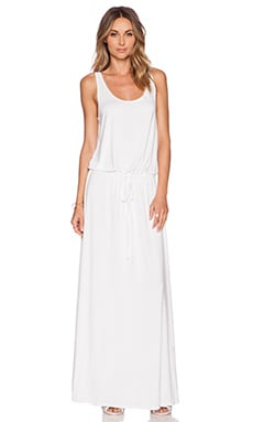 Michael Lauren Oz Maxi Dress in White