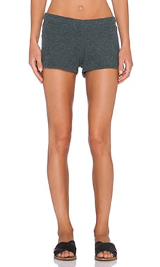 Michael Lauren Eddy Sweatshort in Black