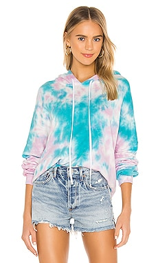 Gower Crop Hoodie Michael Lauren $136 BEST SELLER