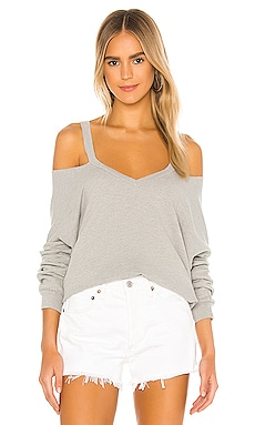 Swanson Long Sleeve Cutout V Neck Pullover Michael Lauren $110