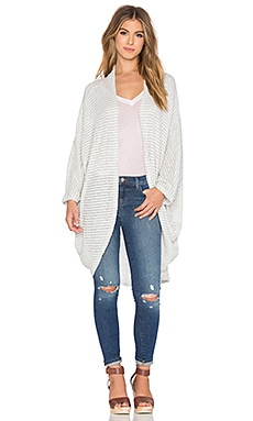 Michael Lauren Easton Cardigan in Ice Stripe