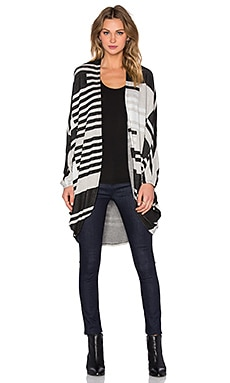 Michael Lauren Easton Cardigan in Geo