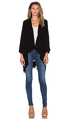 Michael Lauren Texas Wrap in Black