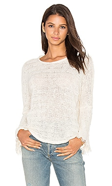 Palmer Sweater in Creme