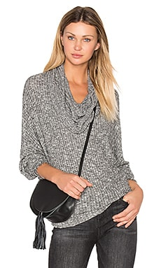 Jarret Turtleneck Sweater in Heather Grey