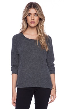 Michael Lauren Kenny Pullover in Black