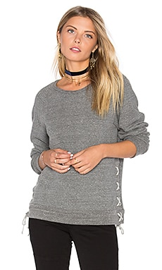 Bryce Lace Up Sweatshirt