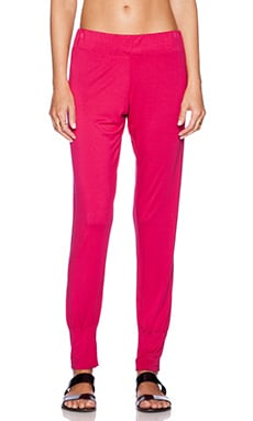 Michael Lauren Peter Cuff Pant in Jazzberry