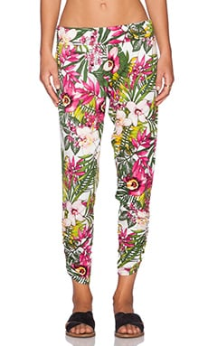 Michael Lauren Pablo Pant in Pink Jungle