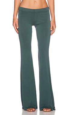 Michael Lauren Mars Bell Pant in Dark Green