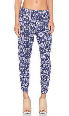 Michael Lauren Pablo Pant in Royal Paisley