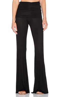 Michael Lauren Costa Bell Pant in Black