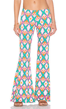 Michael Lauren Mars Bell Pant in Bermuda Triangle