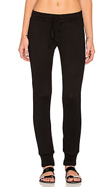 Michael Lauren Chet Track Pant in Black