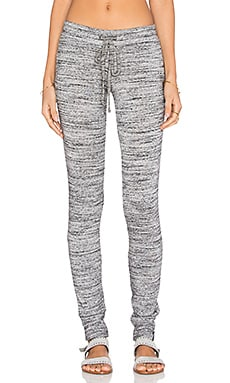 Michael Lauren Chet Track Pant in Marble Grey