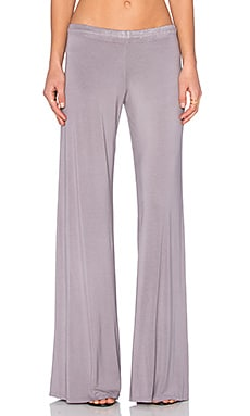 Michael Lauren Derby Wide Leg Pant in Willow Grey