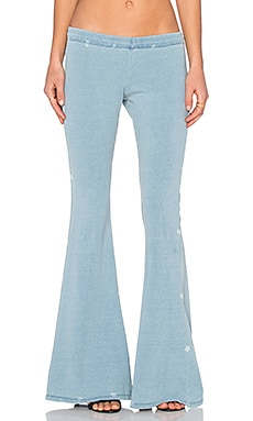Michael Lauren Mars Bell Pant in Blue Vintage Wash