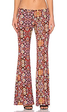Michael Lauren Mars Bell Pant in Tapestry