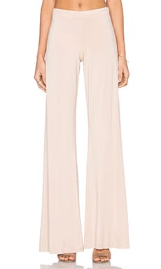 Derby Wide Leg Pant in Champagne
