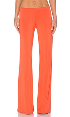Derby Wide Leg Pant en Sunset