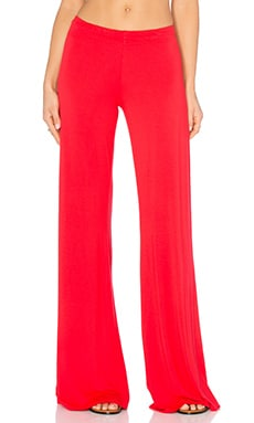 Michael Lauren Derby Wide Leg Pant in Gypsy Red