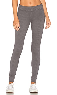 Quinto Rib Legging in Seal