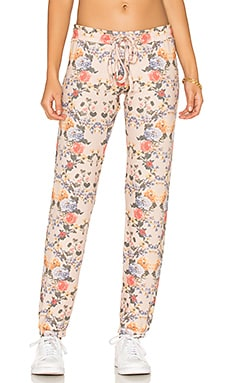 Ren Classic Sweatpant in Pink Champagne Floral