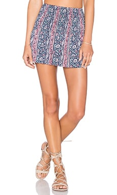 Michael Lauren Vice Mini Skirt in Boho South