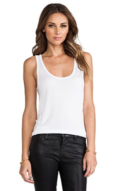 Michael Lauren Ray Tank in White