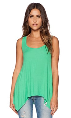 Michael Lauren Brant Tank in Spring Green