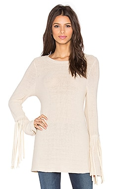 Neka Fringe Sweater en Naturel