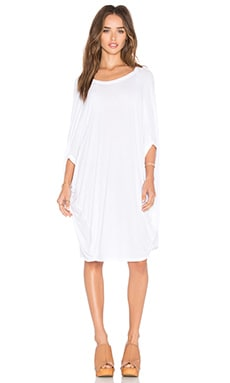 Michael Lauren Sky Draped Tunic in White