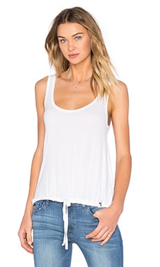 Michael Lauren Crosby Tank in White