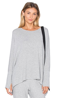 Michael Lauren Flint Top in Heather Grey