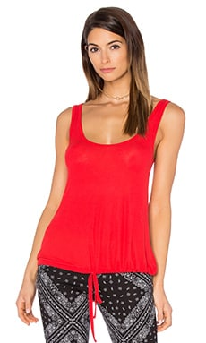 Crosby Drawstring Tank in Gypsy Red