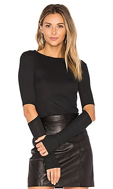 Solomon Elbow Cut Out Tee Michael Lauren $68