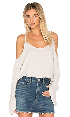 Sampson Cold Shoulder Top in Lace