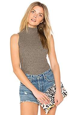 Giovanni Mock Neck Tank in Marble