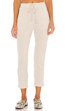 Ribbed Knit Tassel Pant Mina Lisa $64