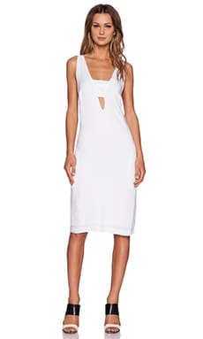 MLM Label Bandeau Mini Dress in White