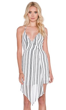 MLM Label Looped Dress in Stripe