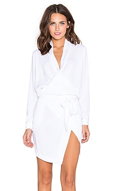 MLM Label Deville Dress in Ivory