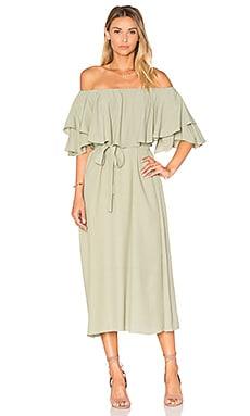 MLM Label Maison Midi Dress in Olive