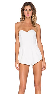 MLM Label Harmony Romper in White
