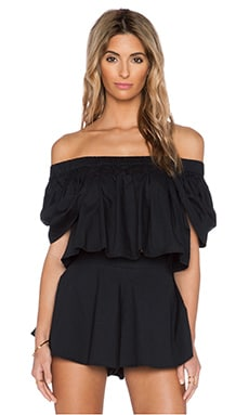 MLM Label Willow Crop Top in Black