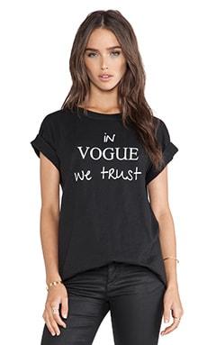 MLM Label In Vogue We Trust Tee in Black