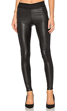 Leather Legging in Schwarz